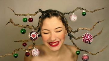 cute-yet-crazy-christmas-tree-party-hairstyles-ideas-2012-for-kids-girls-1