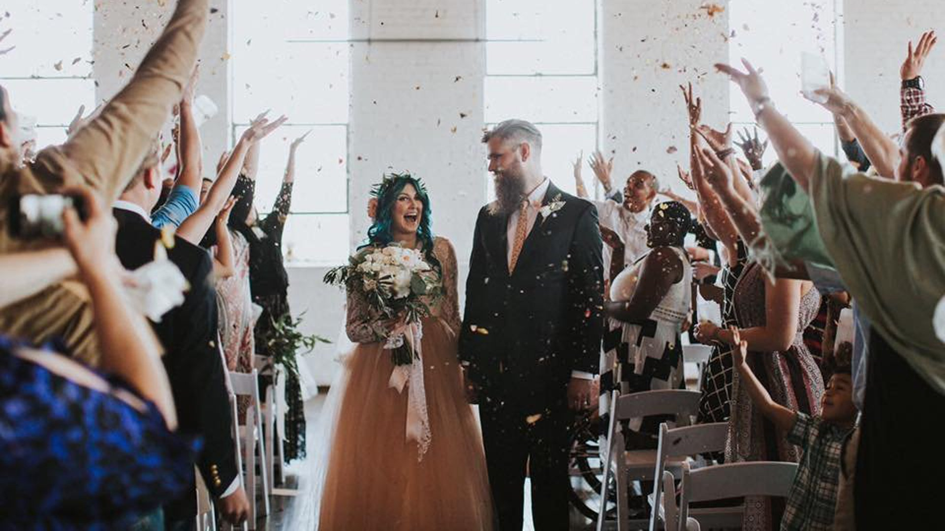 Paralyzed Woman Got To Walk Down The Aisle For Her Wedding Day