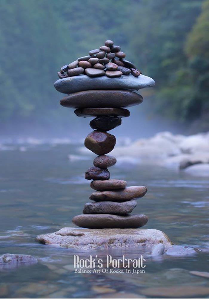 Watch How This Japanese Artist Finds The Perfect Balance Of Rocks
