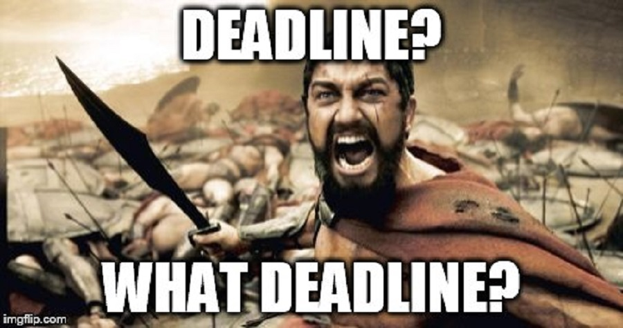 Every Procrastinator Will Totally Relate To These Funny Deadline Memes
