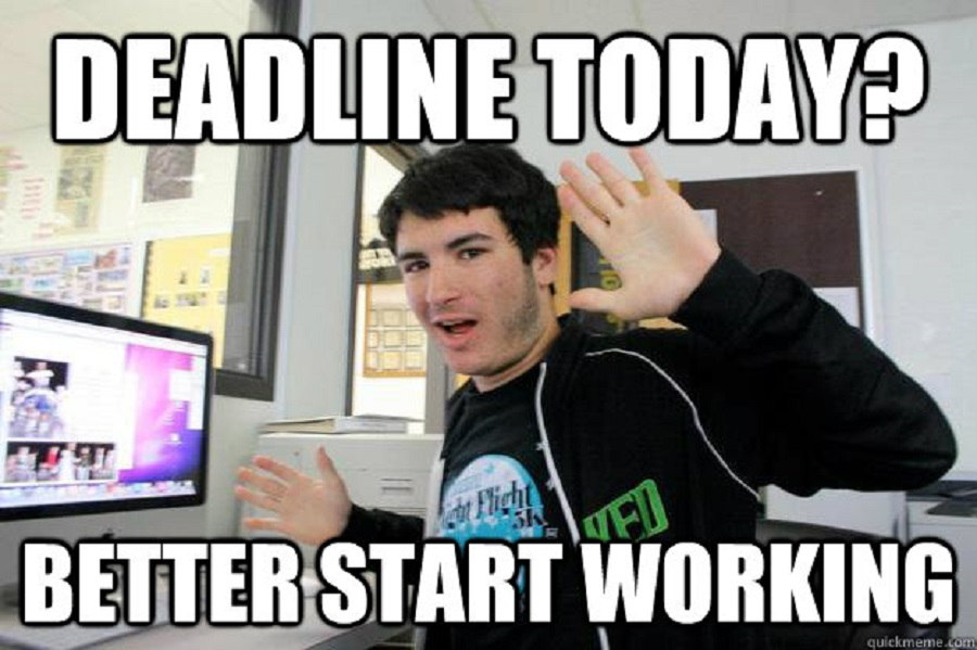 223 every procrastinator will totally relate to these funny deadline memes