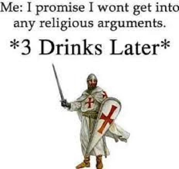 3 drinks later meme
