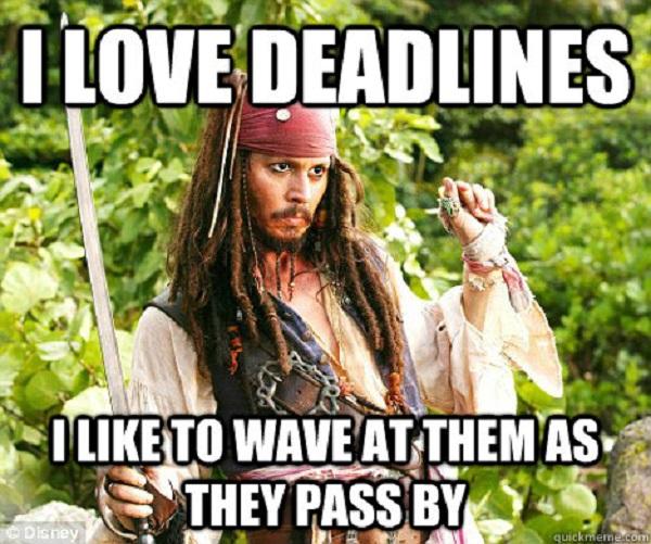 deadline meme