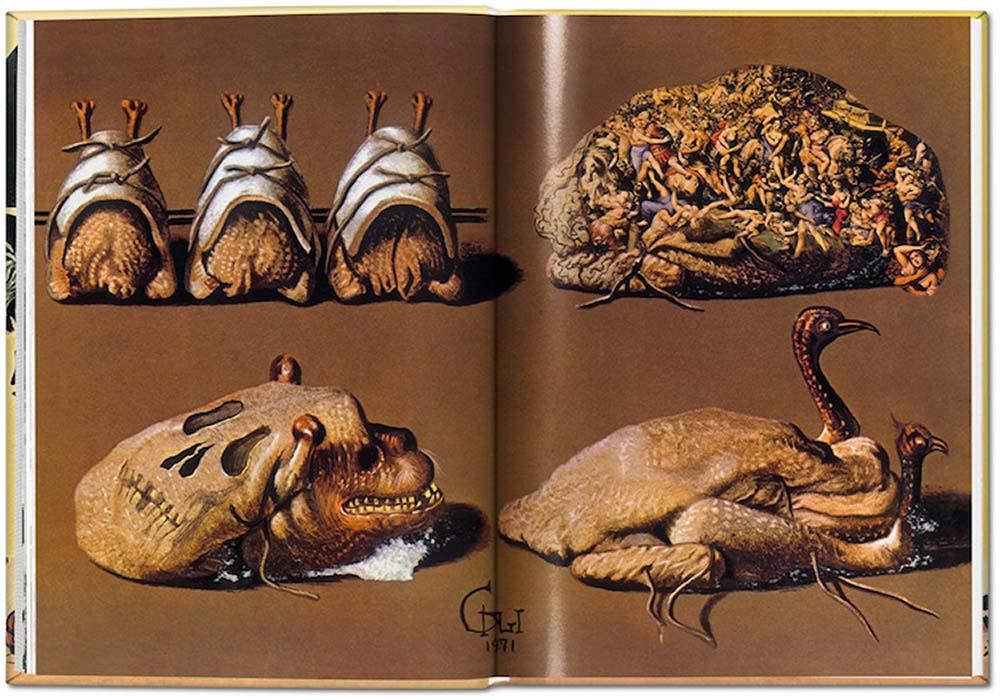 Salvador Dalí's cookbook