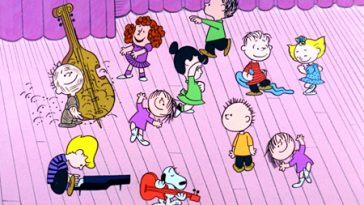 charlie Brown dancing