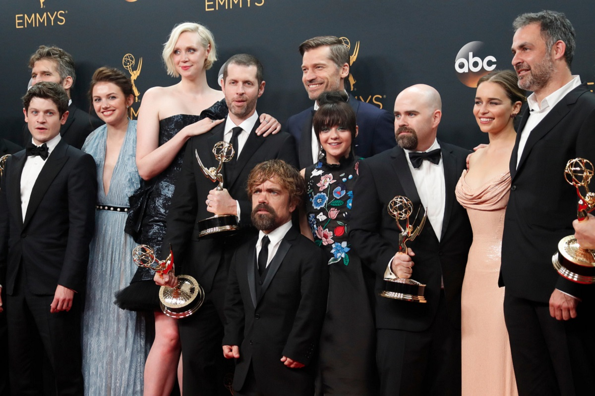 Game of Thrones stars at the 2016 Emmys.
