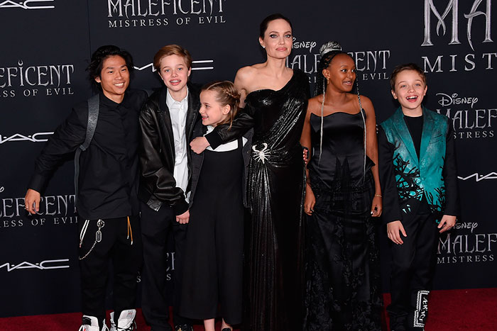 Angelina Jolie Talks about Her Six Children after Split from Husband Brad Pitt