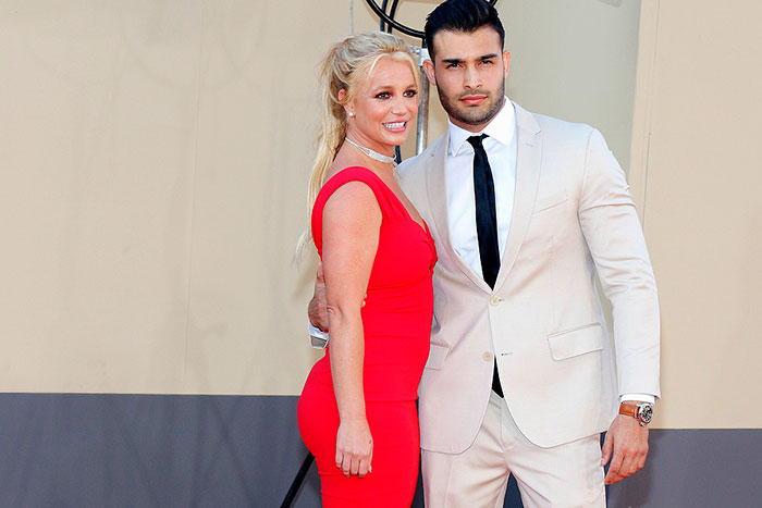Britney Spears' Boyfriend Sam Asghari Shuts down a Critic Who Said Star's Too Scary