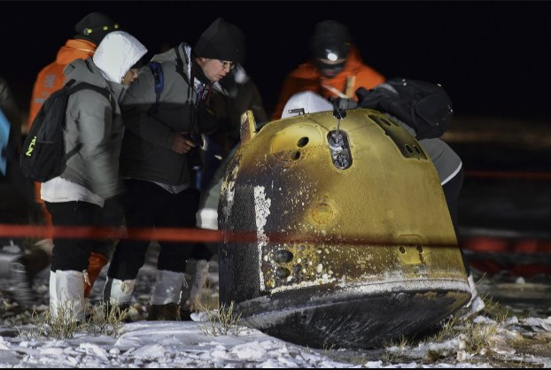 China's Lunar Capsule Returns Successfully to Earth with Precious Moon Rocks and Soil