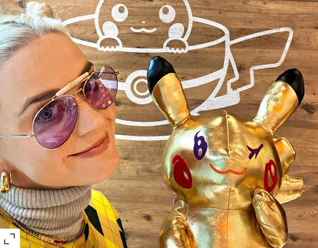 Pokemon Announces Partnership with Katy Perry to Celebrate the Game's 25th Anniversary