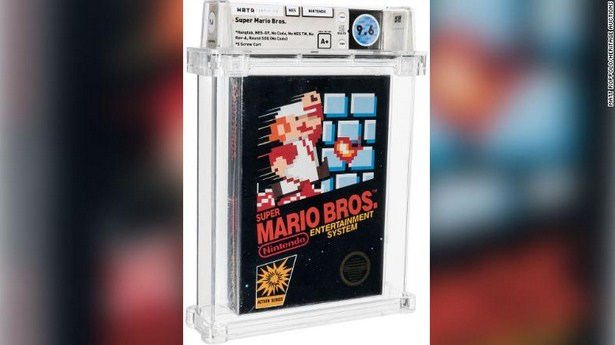A 1986 Super Mario Game Auctions For $660,000 after Being Forgotten for 35 Years