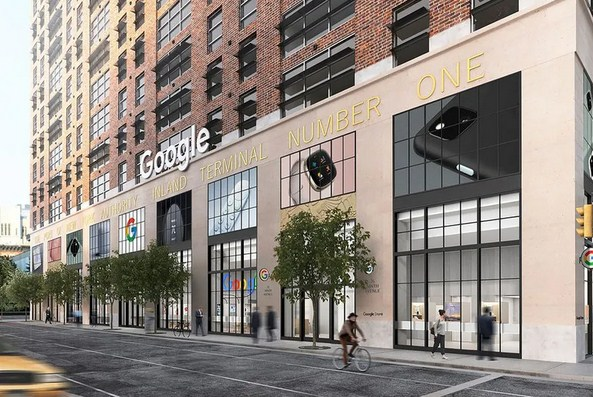 Google Set to Open Its First Retail Store in NYC This Summer